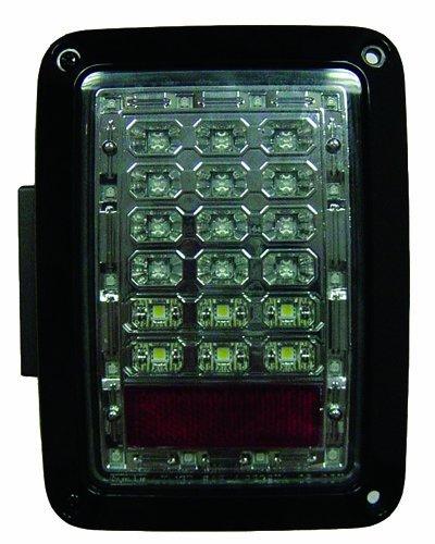 IPCW LEDT-420CS Platinum Smoke LED Tail Lamp Pair