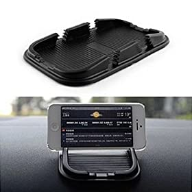 Universal Car Auto Sticky Non-slip Mat Anti-Slip Pad Key GPS Mobile Phone Holder (1 PCS)