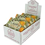 Case Savings 6 Piece Case of Olive Tangerine Soaps Nesti Dante Fruit Extra Large 8.8 oz