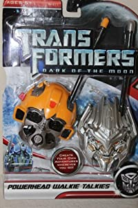 Transformers Powerhead Walkie Talkies - Bumblebee & Megatron