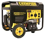 516RzuDO2mL. SL160  Champion Power Equipment 46539 4,000 Watt 196cc 4 Stroke Gas Powered Portable Generator With Wireless Remote Electric Start (CARB Compliant)