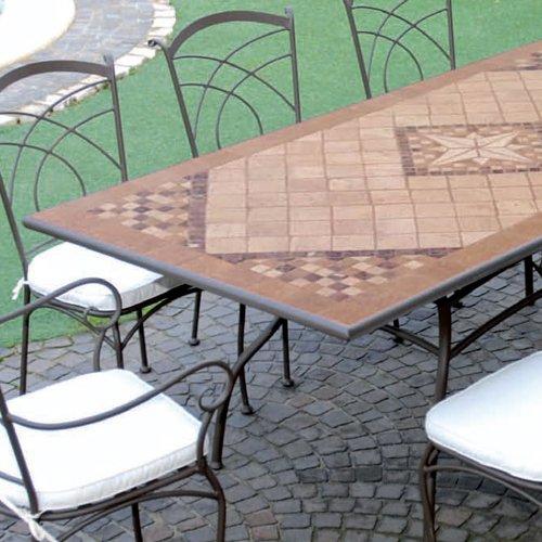 Tavolo pietra rotondo regina idea creativa della casa e for Tavoli amazon