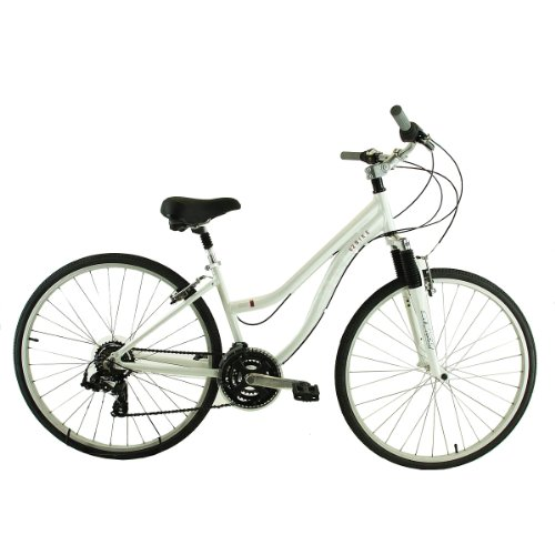 K2 Bikes Women's Rocky Point Comfort Bike (White, 13/X-Small)
