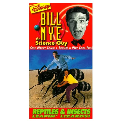 Bill Nye the Science Guy  Reptiles  amp  Insects  VHS Bill Nye The Science Guy Background