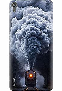 Noise Designer Printed Case / Cover for Sony Xperia XA Dual / Patterns & Ethnic / Old Train Design
