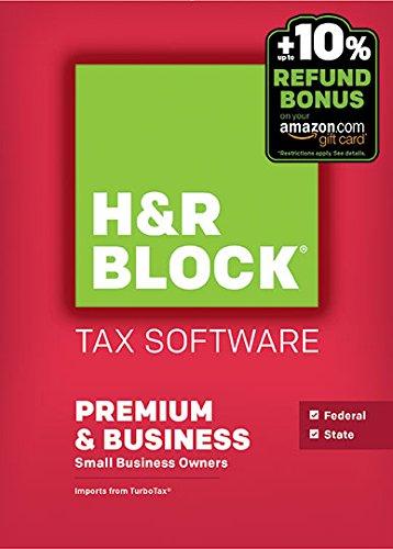 H&R Block 2016 Premium & Business