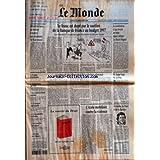MONDE (LE) [No 16066] du 21/09/1996 - MITSUBISHI LANCE UN MOTEUR A ESSENCE QUI CONSOMME 30 % DE MOINS - LE FRANC...