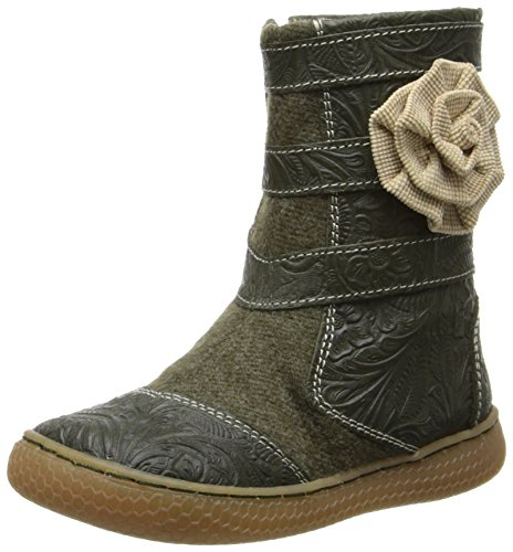 Livie & Luca Stitcher Textured Zip Boot (Toddler/Little Kid),Olive,11 M Us Little Kid front-734922
