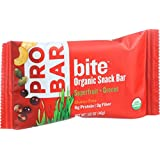 Probar Bite Organic Snack Bar - Superfruit Plus Greens - 1.62 Oz Bars - Case Of 12
