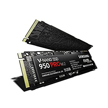 Samsung SSD 512GB 950 PRO M.2ベーシックキット Type2280 PCIe3.0×4(32Gb/s) NVMe1.1 V-NAND搭載 MZ-V5P512B/IT