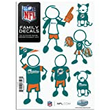 NFL Miami Dolphins Small Family Decal Set at Amazon.com