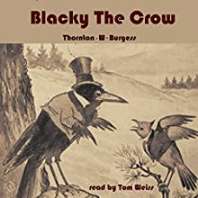 Blacky the Crow Audiobook by Thornton W. Burgess Narrated by Tom S. Weiss