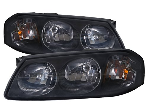 chevy-impala-lite-smoke-headlights-headlamps-pair-new-set