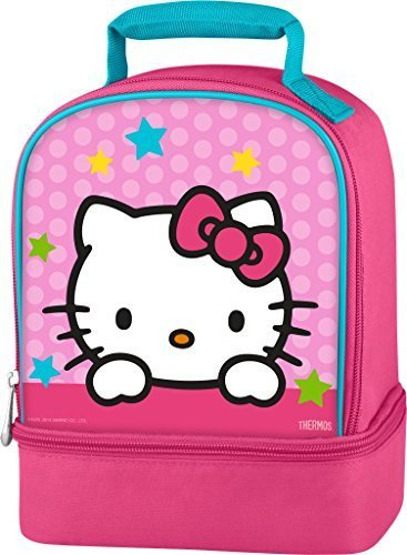 Thermos Dual-Compartment Hello Kitty Lunch Kit front-983019