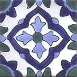 Decorative Ceramic Tile - Testour Design (Set of 4 Tiles)