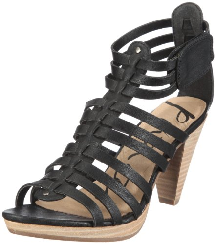 Geraldine S3355-01 Damen Sandalen Fashion-Sandalen Schwarz schwarz 01 EU 40