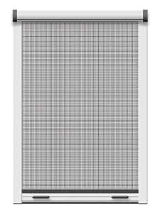 Schellenberg 50824 Insektenschutz-Klemmrollo Fenster 130 x 160 cm weiß