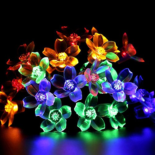 solar-string-lights-flower-cherry-blossom-shape-w-30-leds-decorative-outdoor-or-indoor-holiday-light