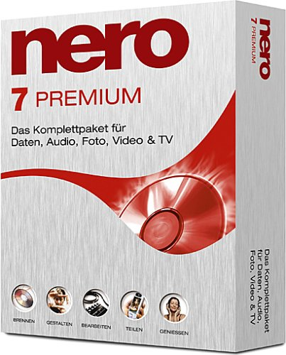 Скачать Nero 7 Premium Reloaded v.7.5.9.0.N (c) Multilanguage (2006) Рабочи