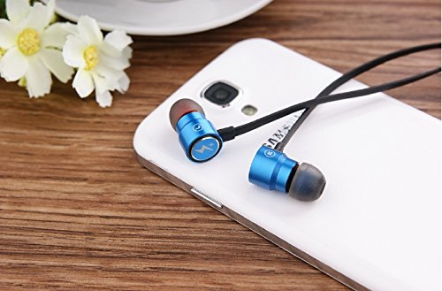 Premium Earbuds - Stereo Hi Fi Superior Bass - 3Rd Generation Model Gz - For Mp3'S/Ipods - And All Apple Iphones - All Androids: Htc, Samsung, Google, Moto, Lg, Sony - Nokia And Windows Smartphones - Noise Reduction - Hands Free With Mic - Extra Soft Comf