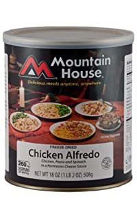 Mountain House #10 Can Low Sodium Chicken Alfredo (9- 1 cup servings)