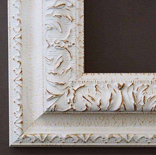 Specchio da parete-guardaroba specchio corridoio bagno specchio-su taglie 200-Roma Bianco 6,5, Dimensioni esterne dello specchio, bianco, 60 x 140
