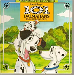 Walt Disney's 101 Dalmatians Play Hide-And-Seek (A Surprise Lift-the