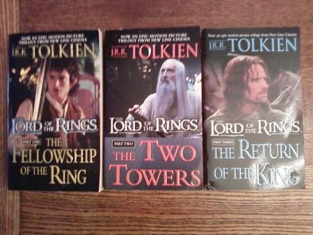 The Lord of the Rings  The Fellowship of the Ring / The Two Towers / The Return of the King, J. R. R. Tolkien; Barbara Remington