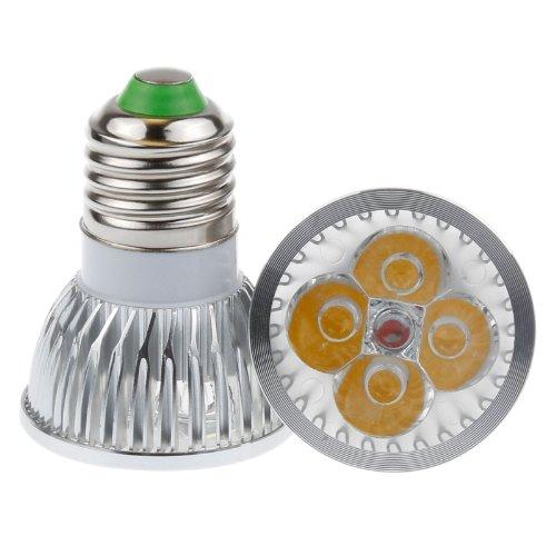 Lemonbest® High Power 4W E27 Led Spot Light Bulb, 35W Halogen Replacement, Warm White