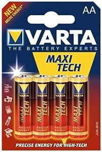 Varta Batterie MAX TECH Mignon (4-er Blister R6)