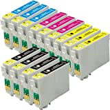 Vivamart Remanufactured Ink Cartridges Replacement for EPSON T069 Set -4Black/3Cyan/3Yellow/3Magneta 13-PACK