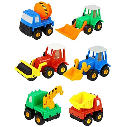 Digging Toys For Boys : Awardwiki fajiabao kids push back car set toy mini