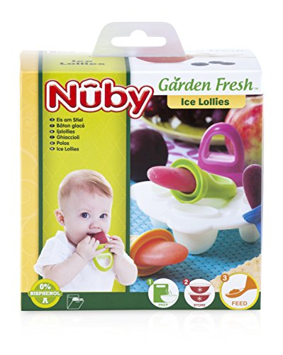 nuby garden fresh fruitsicle frozen pop tray baby products today