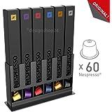 Tavola Swiss CAPstore BOX60 Présentoir pour 6 étuis de capsules Nespresso