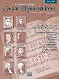 img - for Great Hymnwriters (Portraits in Song): Medium High Voice book / textbook / text book