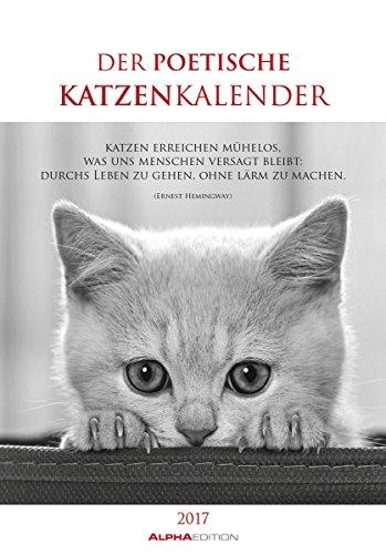 der-poetische-katzenkalender-2017-literarischer-bildkalender-24-x-34-mit-zitaten-schwarz-weiss-tierk