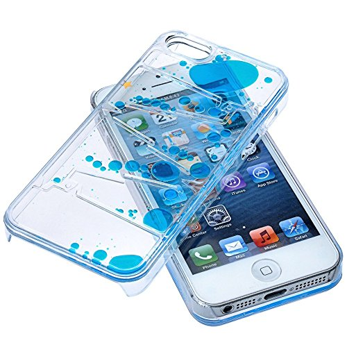 Appbox-Flowing-Liquid-Swimming-Magic-Maze-Transparent-Hard-3d-Liquid-Case-Cover-Shell-for-Iphone-5-5s