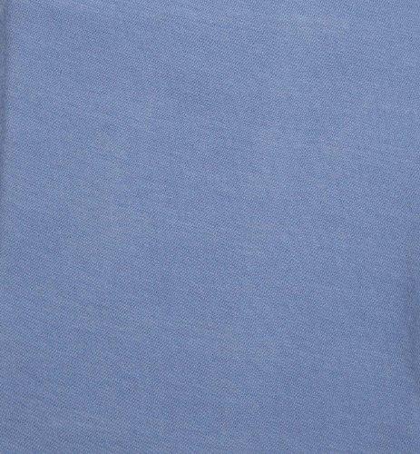 Kids Line Jersey Knit Bassinet Fitted Sheet, Serendipity Blue