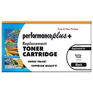 Performance Plus TN 350 Compatible Toner for Brother HL 2040/2070