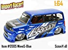 Jada Dub City Import Racer Candy Blue Scion XB 1:64 Scale Die Cast Car