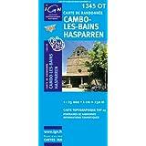 Cambo les Bains Hasparren : 1/25 000 (Carte de randonnée Top 25)