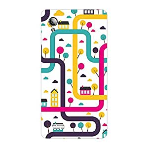 Garmor Designer Plastic Back Cover For Vivo y11