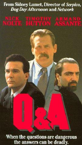 Q & A [VHS] [Import] Nick Nolte Timothy Hutton Armand Assante Patrick O'Neal Lee Richardson Hbo Home Video