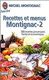 RECETTES ET MENUS MONTIGNAC T02