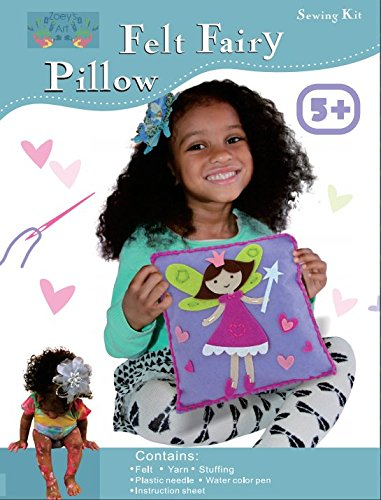 Sew and Stuff Kit. Fairy Pillow Ideal Kids Craft Kit Includes all Supplies. Fun Activity. Ages 5-12. All Inclusive Arts and Crafts, Fairy Princess w/ Vibrant Colors Ideal Rainy Day Activity (Art Craft & Sewing compare prices)
