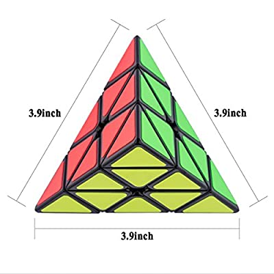 D-FantiX Pyraminx Speed Cube Puzzle Games Christmas Gifts for Kids from D-FantiX