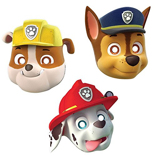 PAW Patrol Paper Masks Halloween Costume Idea
