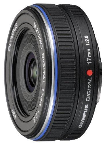 OLYMPUS パンケーキレンズ M.ZUIKO DIGITAL 17mm F2.8 ブラック