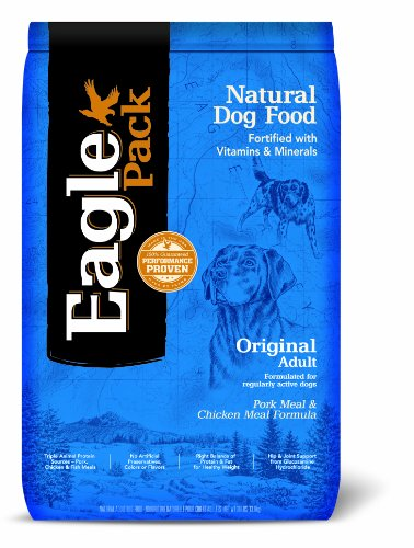 Natural Pet Food, Original Adult Pork Meal and Chicken Meal Formula for Dogs - 30 Pound Bag