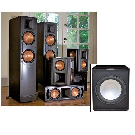"Klipsch Speakers Rf-82Ii Home Theater System 5.1-Free Pa-150 15"" Sub!"
